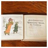 BIRTHDAY BOOK FOR CHILDREN