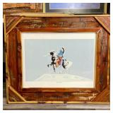 CHIEF POWWOW BY TOS QUE  FRAME 30x36
