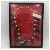 BEAR CLAW NECKLACE IVORY CONCH