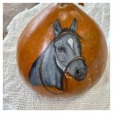 KIM CABBAGE PAINTED GOURD