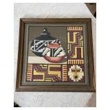 NATIVE AMERICAN NEEDLE POINT