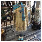 NATIVE AMERICAN CEREMONIAL DRESS
