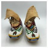 CHOCTAW BEADED MOCCASINS