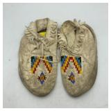 """BEADED MOCCASINS 9.5"""""""
