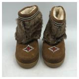 BEADED BOOTS
