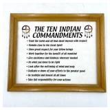 THE INDIAN TEN COMMANDMENTS