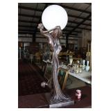 TALL ART DECO LAMP