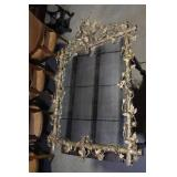 VERY ORNATE ANTIQUE MIRROR
