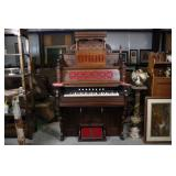 ANTIQUE WHITNEY HOLMES PUMP ORGAN