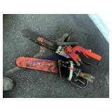 2 Hydraulic Chain Saws