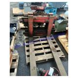 Forklift Rist o Twist Fork carriage Attachment