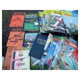 VINTAGE MODEL PLANE BOOKS & MAGAZINES