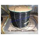 LARGE ROLL OF FIBER OPTIC CABLE