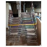 LOT OF 18 SLED BASE CHAIRS