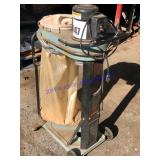 Delta Model 50-75 dust collector/sweeper