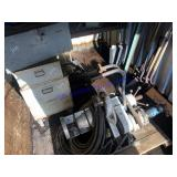 Tri Tool Inc. pipe beveling tool w/ accessories