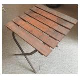 Wood Table Plant Stand