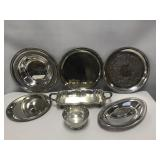 7 pc. Silverplate Misc. Lot