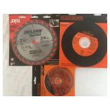 Grinding and Sawing Blade Lot - New in the Package