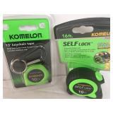 Komeleon Tape Measure Lot - New in the Box