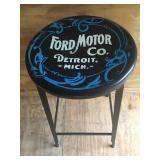Ford Motor Company Metal Stool