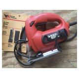Black and Decker Corded Jig Saw with Pouch