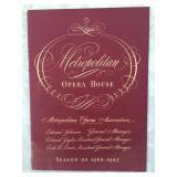 Metropolitan Opera House Brochure 1944 - 1945