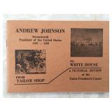 President Andrew Johnson Booklet 1937
