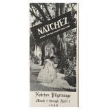 Natchez Pilgrimage Brochure 1949