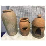 3 pc. Pottery Lot