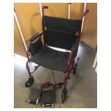 Walgreens Portable Transport Wheelchair