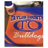 Taylor County Bulldogs Flag & Gator Mug