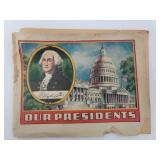 """1930s Dr. Niles Ads """"Our President"""" Booklet"""
