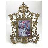 NB & IW Victorian Ornate Brass Picture Frame