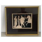 Vintage Greek Scene Lithograph