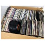 Huge 45 RPM Record Lot - Most w/ Sleeves