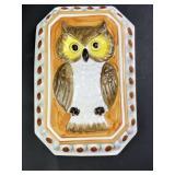 Vintage Taste Setter Sigma Ceramic Owl Decor