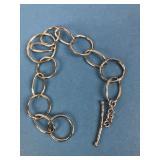 Singed SU 925 Thailand Sterling Silver Bracelet