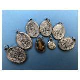 Vintage Religious Medallions Lot