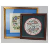 """""""Friends Forever"""" Framed Art"""