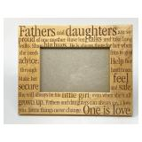 Fathers & Daughters Picture Frame