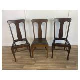 National Chair Co Wood Project Chairs