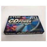 TDK CD Power 110 Min Blank Tape SEALED
