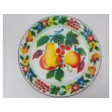 """18"""" Rossini Creation Enamelware Platter"""