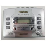 AIWA TX686 Portable Cassette Player AM/FM