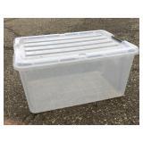 45 QT Plastic Storage Bin