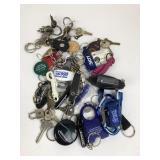 Vintage Keychains, Carabiners, Keys