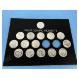 Great Olympic Moments Medallion Set