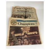 Detroit Tigers World Champs Detroit News 1984