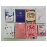 8 Packs of Playing Cards